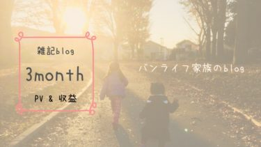 【ブログ経過報告】初心者の雑記ブログ3ヶ月目 「PV」「収益」「改善」報告