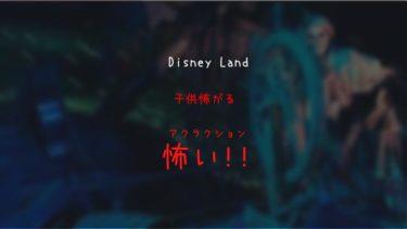 【注意!】ディズニーランド(TDL)子供が怖い&トラウマになるアトラクション
