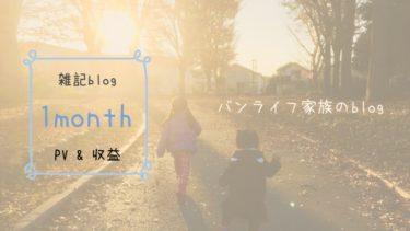 【ブログ経過報告】初心者の雑記ブログ1ヶ月目 「PV」「収益」「改善」報告